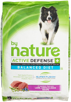 By Nature Active Defense Lamb with Lentils and Duck Dry Dog Food