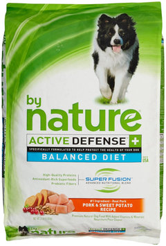 By Nature Active Defense Pork and Sweet Potato Recipe Dry Dog Food