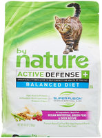 By Nature Active Defense Ocean Whitefish with Green Peas and Duck Dry