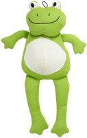 Patchwork Distribution Patchwork Pet Tuff Puff Froggle Plush Dog Toy