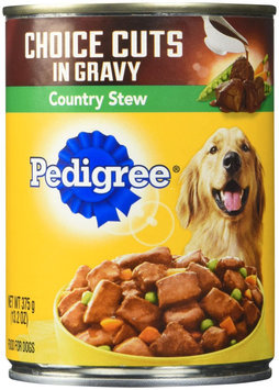 Pedigree® Wet Dog Food Choice Cuts in Gravy Country Stew