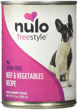 Nulo FreeStyle Grain Free Beef and Vegetables Recipe Canned Dog Food