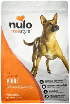 Nulo Grain-Free Dry Dog Food Turkey 4.5 lbs