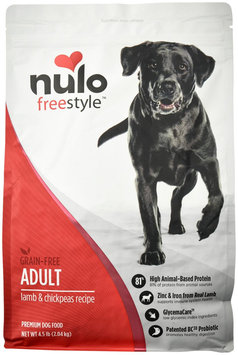 Nulo Grain-Free Dry Dog Food Lamb 4.5 lbs