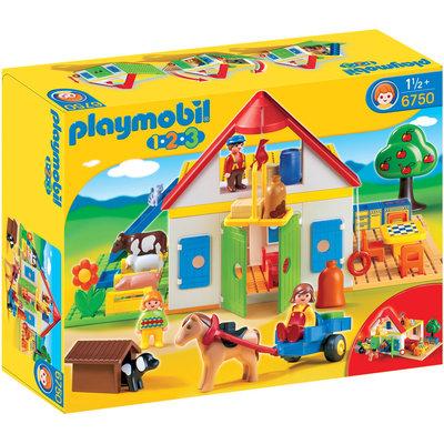 Playmobil 1.2.3. Large Farm - 1 ct.