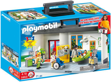 Playmobil Take Along Hospital Playset - 5953
