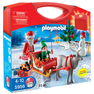 Playmobil Holiday Carrying Case Playset 5956