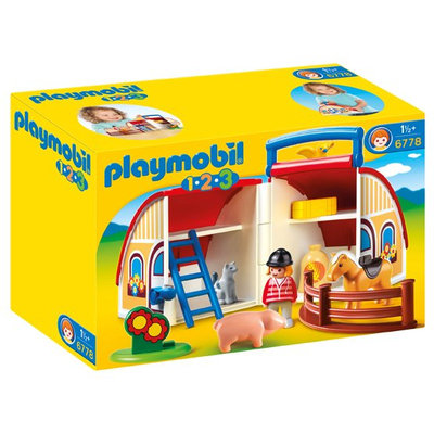 Playmobil Barn Playset - 6778