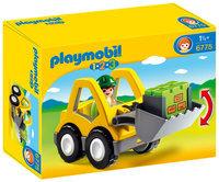 Playmobil 1.2.3 Excavator - 1 ct.