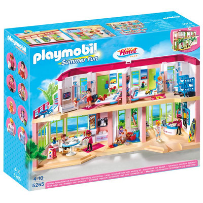 Playmobil Large Furnished Hotel - 1 ct.