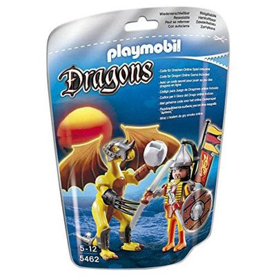 Playmobil Stone Dragon with Warrior - 1 ct.