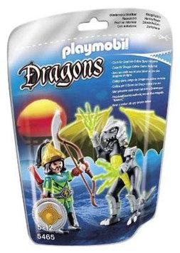 Playmobil Lightning Dragon with Warrior - 1 ct.
