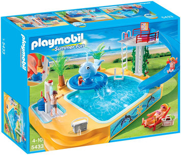Playmobil - Children's Pool with Whale Fountain (5433) /Toys