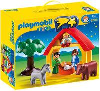 Playmobil 1.2.3 Christmas Manger (6786)