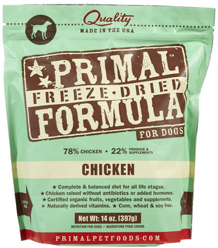 Primal Dog Freeze Dried Nuggets Chicken - 14 oz