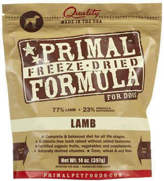 Primal Dog Freeze Dried Nuggets Lamb - 14 oz