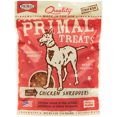 Primal Dry Roasted Chicken Shredders Dog Treats