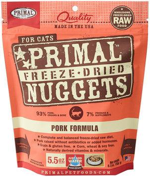Primal Pet Foods Primal Freeze Dried Pork Formula Cat Food