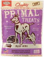 Jerky Beef Nibs Dog & Cat Treats, 4-Ounce Bag