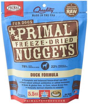 Primal Pet Food Primal Freeze Nugget Duck Dry Dog Food