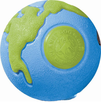 Planet Dog Orbee-Tuff Ball Large - blue/green