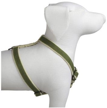 Planet Dog - Cozy Hemp Adjustable Harness - Apple Green - Large