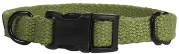 Planet Dog - Natural Hemp Adjustable Collar - Apple Green - Small