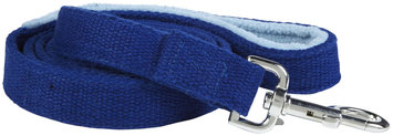 Planet Dog - 5' Natural Hemp Leash w/Fleece Handle - Blue