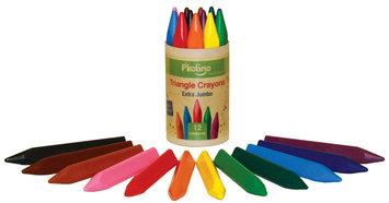Pkolino P'Kolino Triangular Crayons Extra Jumbo (12 colors)