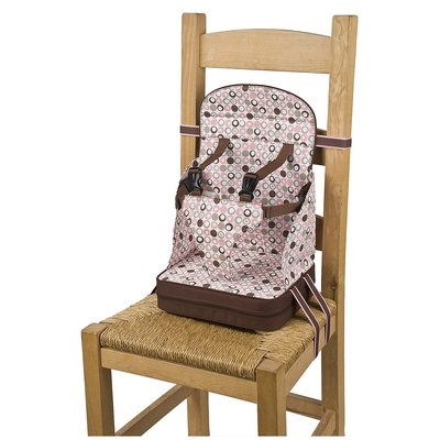 Polar Gear Polar Go Anywhere Travel Feeding Booster Seat - Pink
