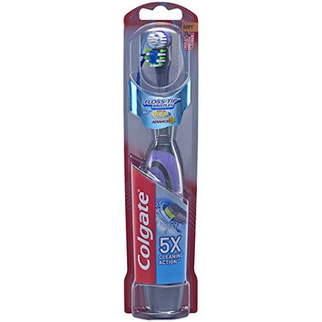 Colgate® 360°® Total® Advanced FLOSS-TIP™* BRISTLES Battery Powered Toothbrush Soft