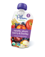 Plum Organics Second Blends Apple, Plum, Berry & Barley