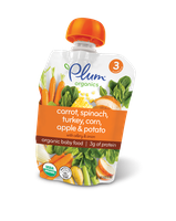 Plum Organics Stage 3 Meals Carrot, Spinach, Turkey, Corn, Apple & Potato With Celery & Onion
