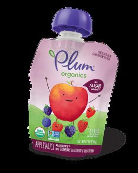 Plum Organic Mashups® Strawberry, Blackberry & Blueberry