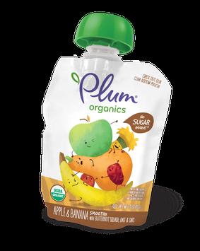 Plum Organics Smoothie Apple & Banana