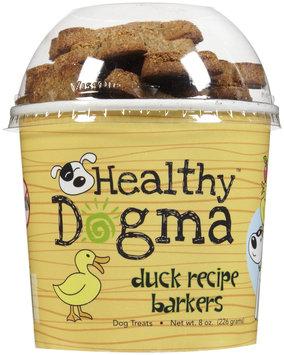 Healthy Dogma Duck Barkers Biscuits- 8 oz