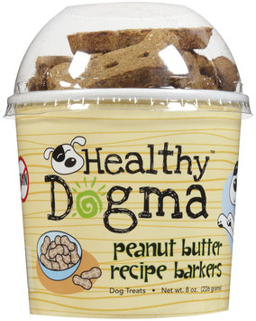Healthy Dogma Peanut Butter Barkers Biscuits - 8 oz