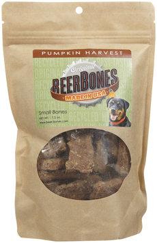 Beer Bones Pumpkin Harvest Dog Biscuits Small 7-oz bag