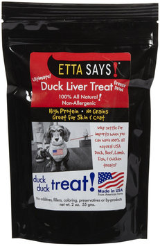 Etta Says! Freeze Dried Duck Liver Treats