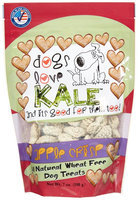Dogs Love Kale Apple Crisp Flavored Dog Treats