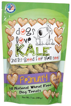 Dogs Love Kale Peanutty Flavored Dog Treats