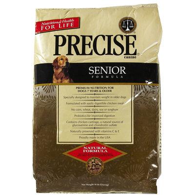 Precise Canine Senior Dry Dog Food 30 Lb bag