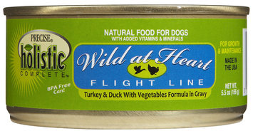 Precise Holistic Complete Wild at Heart - Turkey & Duck - 24 x 5.5 oz