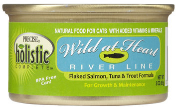 Precise Holistic Complete Wild at Heart - Salmon, Tuna & Trout - 24 x 3 oz