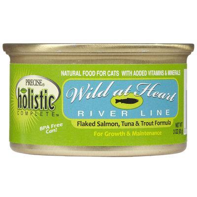 Precise Holistic Complete Wild at Heart - Salmon, Tuna & Trout - 24 x 3 oz