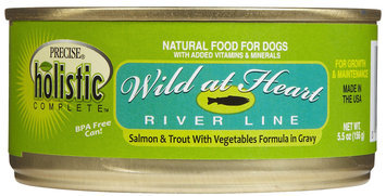 Precise Holistic Complete Wild at Heart - Salmon & Trout - 24 x 5.5 oz