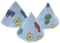 Beba Bean Pee-pee Teepee Cars - Blue - Cellophane Bag - 1 ct.