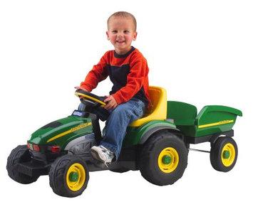 Peg-Perego John Deere Pedal Farm Tractor & Trailer