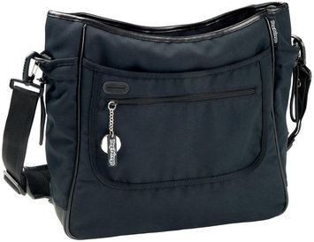 Babies R Us Peg Perego Borsa Diaper Bag - Licorice - Black Leather