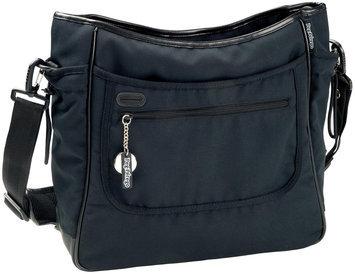 Babies R Us Peg Perego Borsa Diaper Bag - Licorice - Black Leather